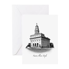 Nauvoo, Illinois Temple Greeting Cards (10 Pack)