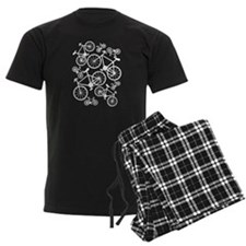 Bicycles Big and Small Pajamas