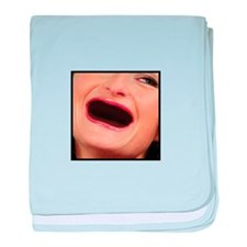 No Teeth baby blanket