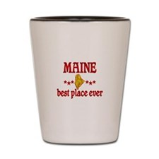 Maine Best Shot Glass