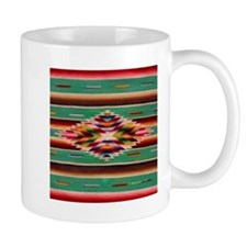 Southwest Indian Weaving Mug