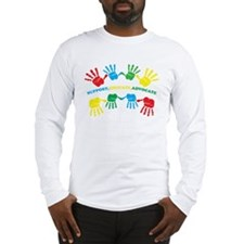 Autism hand Long Sleeve T-Shirt