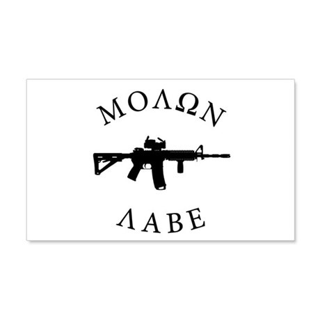 Molon Labe Wall Decal
