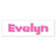 """Evelyn"" Bumper Bumper Sticker"