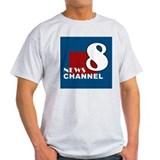 News Channel 8 T-Shirt