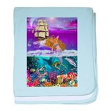 Best Seller Merrow Mermaid baby blanket