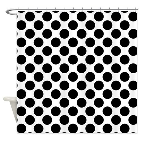 Black And White Plaid Curtains Black and White Polka Dot Frame