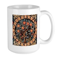 Orange Tree of Life Mug