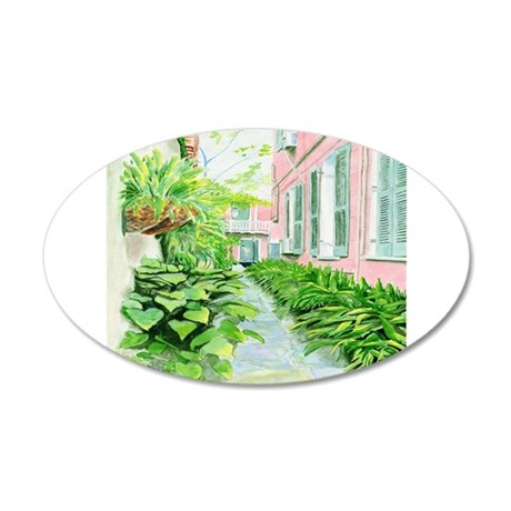 New Orleans Courtyard Wall Decal