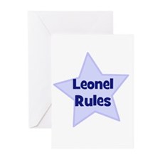 Leonel Rules Greeting Cards (Pk of 10)