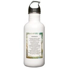 Desiderata La Piazza Water Bottle
