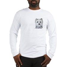 Westie Got Biscuits? Long Sleeve T-Shirt