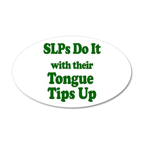 SLPs Do It Wall Decal