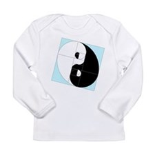 Golden Ratio Yin and Yang Long Sleeve Infant T-Shi