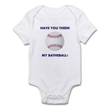 Have you theen my batheball? Infant Bodysuit