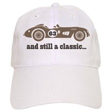 63rd Birthday Classic Car Baseball Cap