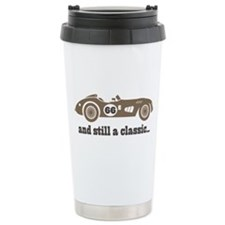66th Birthday Classic Car Ceramic Travel Mug