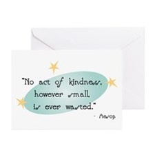 Aesop Quote Greeting Cards (Pk of 10