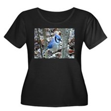 Beautiful BlueJay Plus Size T-Shirt