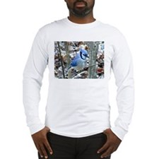 Beautiful BlueJay Long Sleeve T-Shirt