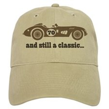 70th Birthday Classic Car Baseball Cap