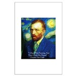 Van Gogh Paint My Dream Posters