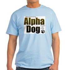 Alpha Dog Ash Grey T-Shirt