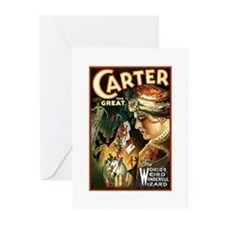 Carter the great Greeting Cards (Pk of 20)