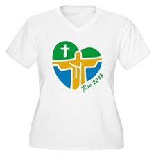 World Youth Day Plus Size T-Shirt