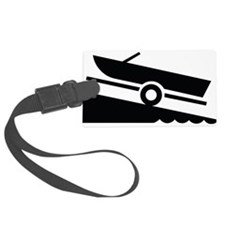 Boat Ramp Luggage Tag