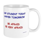 Fear Law Student Small Mugs