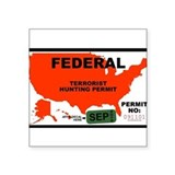 Terrorist Hunting Permit Sticker