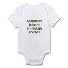 Happiness is being an ENGLISH Infant Bodysuit