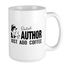 Man Instant Author Add Coffee Mug