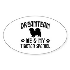 Tibetan Spaniel Dog Designs Decal