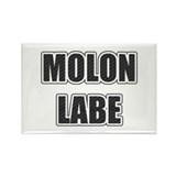 Molon Labe - Carbon Rectangle Magnet