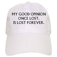 Darcy My Good Opinion Baseball Cap
