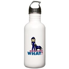 Police Canine Officer Water Bottle