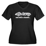 81st Birthday Classic Car Women's Plus Size V-Neck