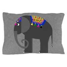 Indian Elephant Pillow Case