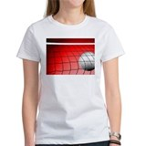 Red Volleyball Net Tee