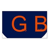 Gus Bus Oval Car Bumper Stickers