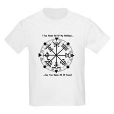 Pagan Wheel of the Year T-Shirt T-Shirt