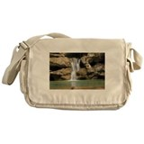 Beautiful Waterfall Messenger Bag