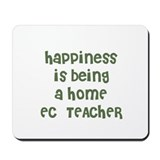 Happiness is being a HOME  EC Mousepad