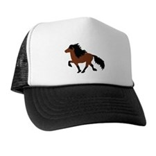 Unique Icelandic horse Trucker Hat