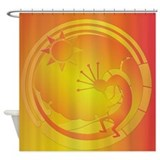 Kokopelli Under the Sun #3 Shower Curtain