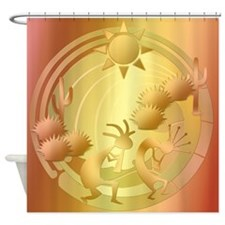 Permeating Sun #11 Shower Curtain