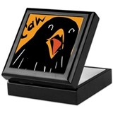 Crow Alert Keepsake Box