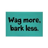 Funny Wag Rectangle Magnet (10 pack)